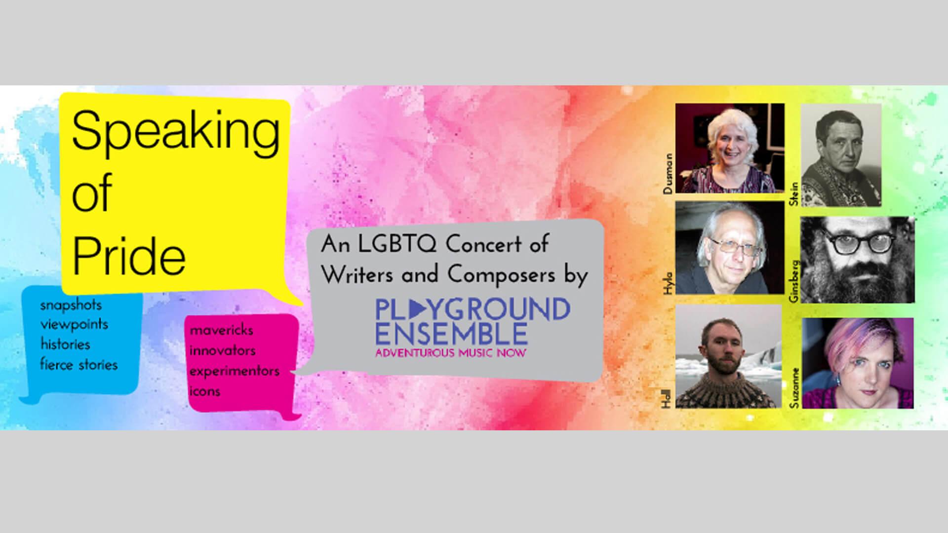Speaking of Pride Concert