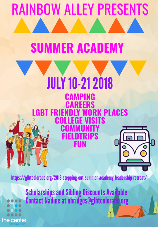 Rainbow Alley Summer Academy 2018