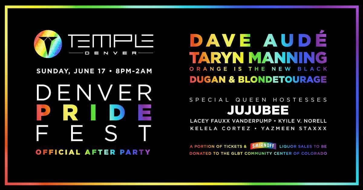 Denver PrideFest Official After Party