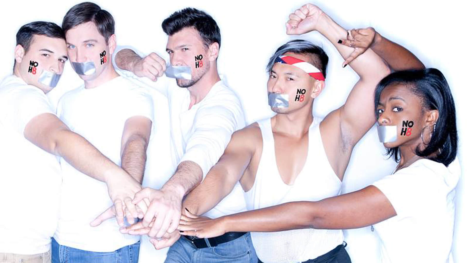 NOH8 Photoshoot at The Center